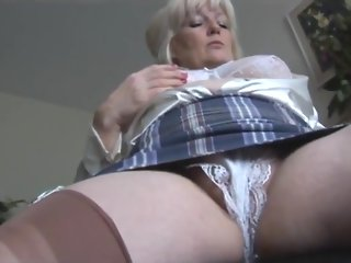masturbation british mature