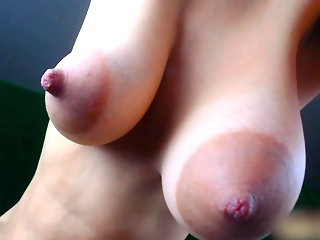 close-up webcam nipples